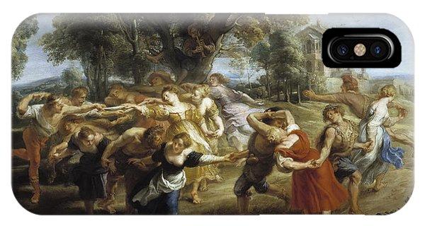 iPhone Case - A Peasant Dance by Viktor Birkus