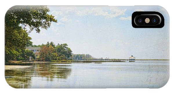 A Perfect Currituck Day IPhone Case