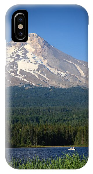 A Perfect Day For Fishing IPhone Case