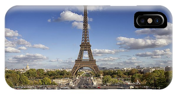A Perfect Day In Paris IPhone Case