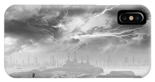 Desolation iPhone Case - A Perfect Stranger by Keith Kapple