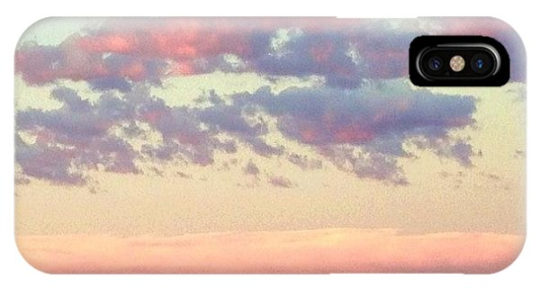 Sky iPhone Case - Summer Evening Under A Cotton by Blenda Studio