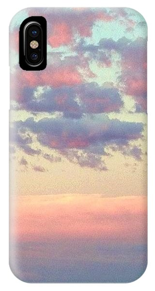 Scenic iPhone Case - Summer Evening Under A Cotton by Blenda Studio