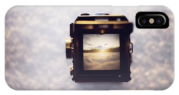 Camera iPhone Case - A Photographer's Perspective by Amber Fite