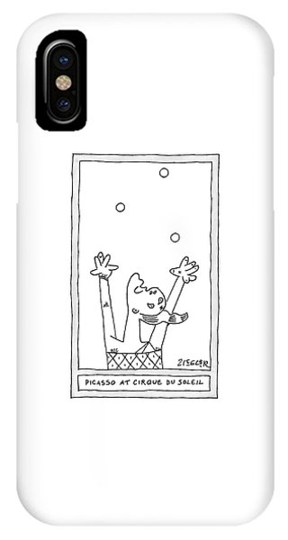 A Picasso Painting Parody Of A Deconstructed IPhone Case