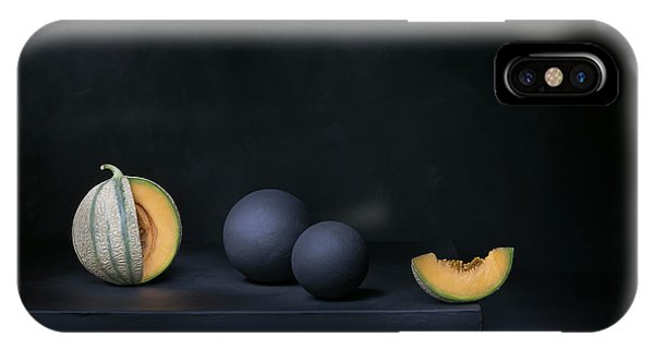 Dark iPhone Case - A Piece Of Moon by Christophe Verot