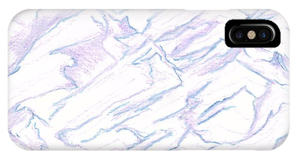 A Piece Of The Alaskan Range IPhone Case