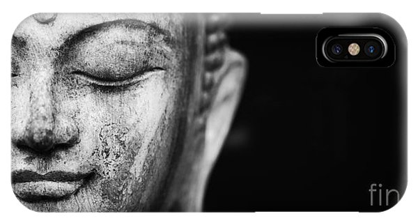 Buddhism iPhone Case - A Place To Be by Tim Gainey