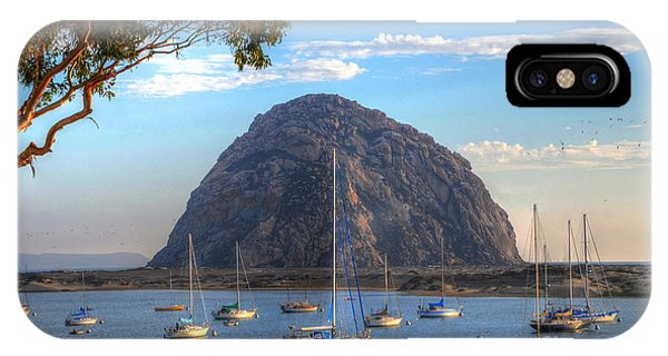 A Pleasant Day In Morro Bay IPhone Case