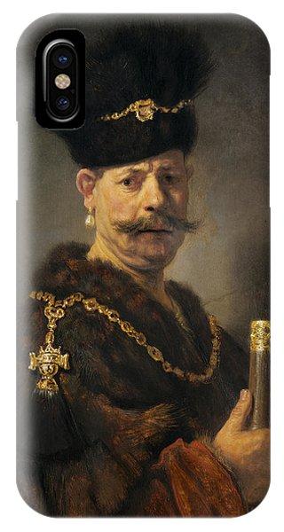 A Polish Nobleman IPhone Case