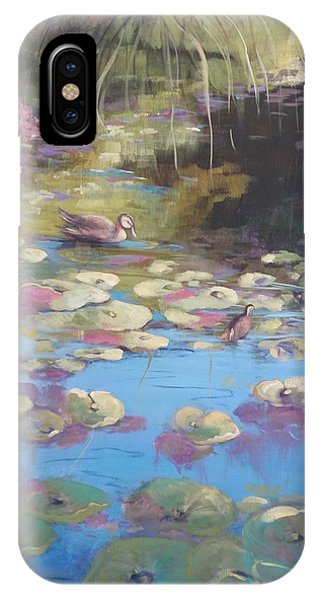 A Pond Reflection IPhone Case