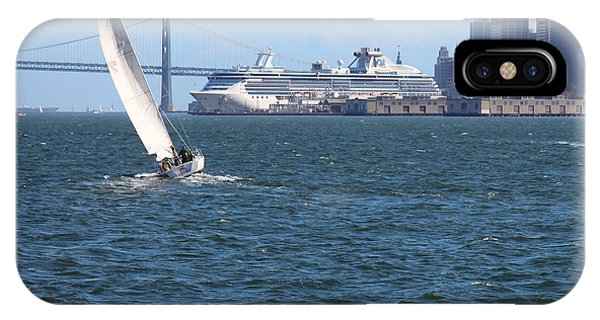 iPhone Case - A Princess Bids The Bay Farewell by Anthony Forster