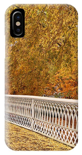 A Quiet Day On The Riverwalk IPhone Case