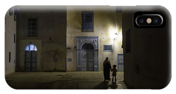 Alley iPhone Case - A Quiet Evening In Kairouan by Rolando Paoletti