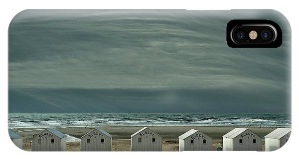 North iPhone Case - A Quiet Spot By The Sea, Just To 'be' ... by Yvette Depaepe