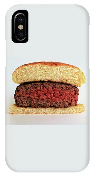 A Rare Hamburger IPhone Case