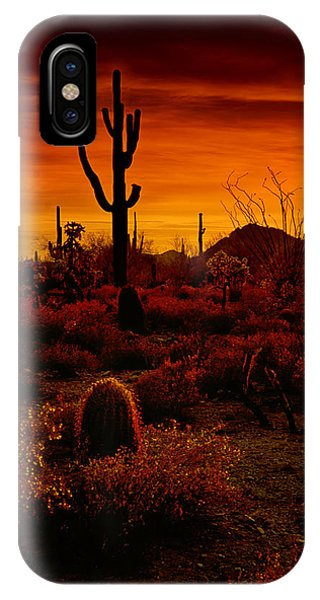 A Red Desert  IPhone Case