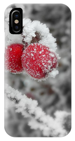 A Red Pair  IPhone Case