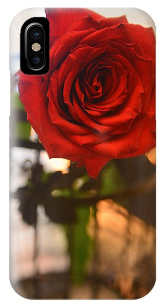A Red Red Rose IPhone Case