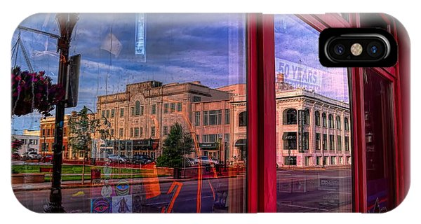A Reflection Of Wausau's Grand Theater IPhone Case