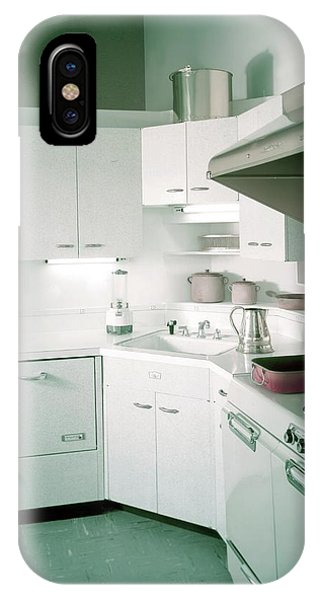 A Retro Kitchen IPhone Case
