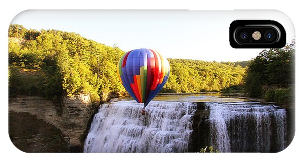 A Ride Over The Falls IPhone Case