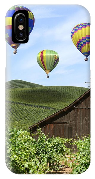 A Ride Through Napa Valley IPhone Case