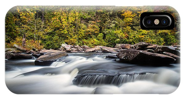 A River Is Furious And Smooth IPhone Case