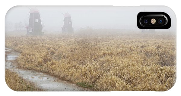 Windmill iPhone Case - A Road by Dong Hee Han