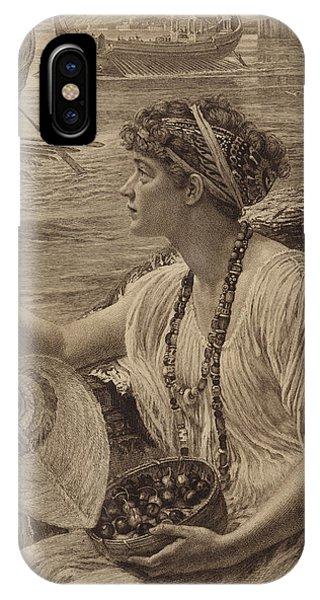 A Roman Boat Race IPhone Case