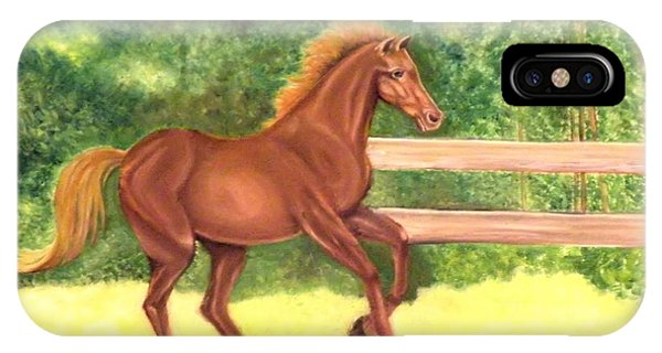 A Running Horse IPhone Case