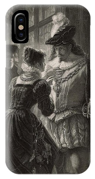 A Scene From Shakespeare's Comedy (or Phone Case by Mary Evans Picture Library