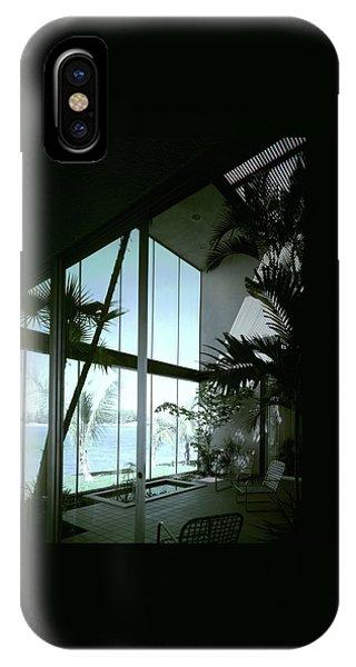 A Screened Patio IPhone Case