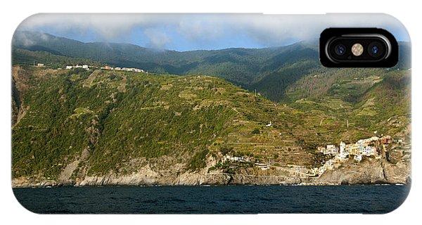 A Sea View Of Manarola IPhone Case