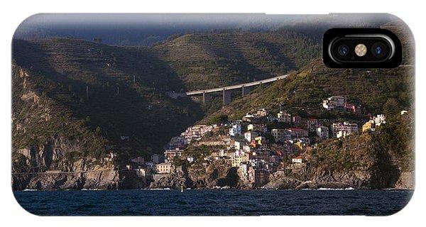 A Sea View Of Riomaggiore IPhone Case