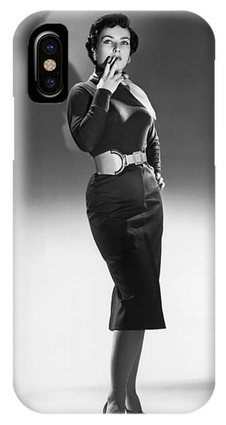 1958 iPhone Case - A Seductive Woman by Underwood Archives