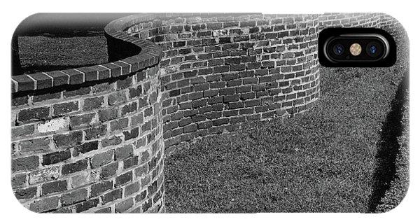 A Serpentine Brick Wall IPhone Case