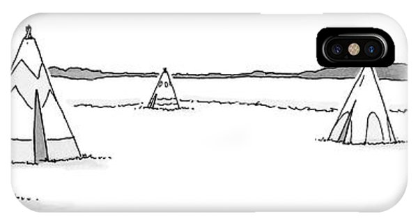Teepees And Pencil Sharpener IPhone Case