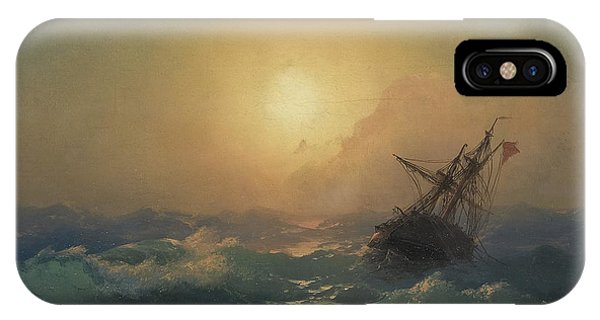 iPhone Case - A Ship In Distress by Viktor Birkus