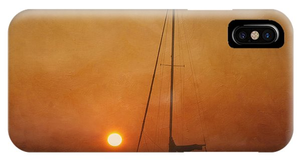 A Ship In The Night IPhone Case