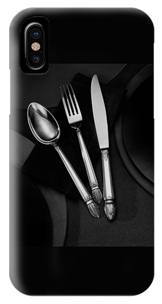 A Silver Spoon IPhone Case