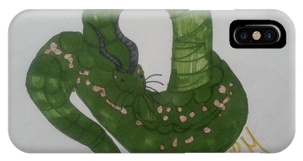 A Snake IPhone Case