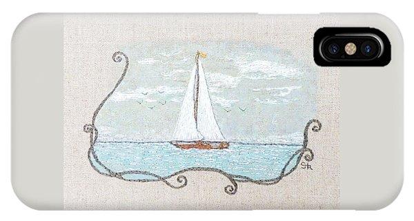 iPhone Case - A Soft Sail by Stephanie Callsen