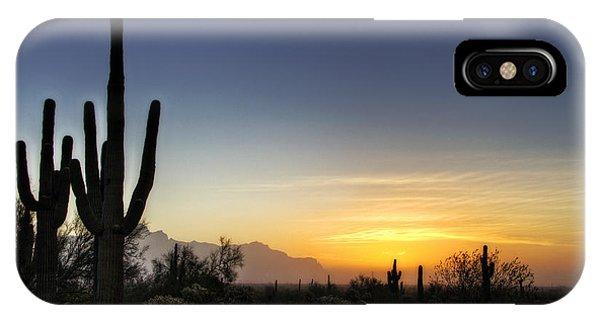 A Sonoran Sunrise  IPhone Case