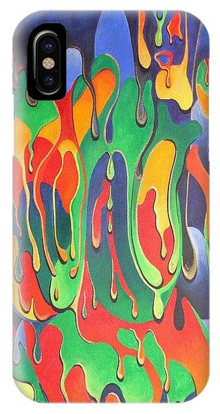 A Splash Of Paint IPhone Case