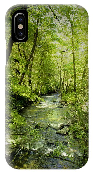 A Spring Day At Lithia Creek IPhone Case
