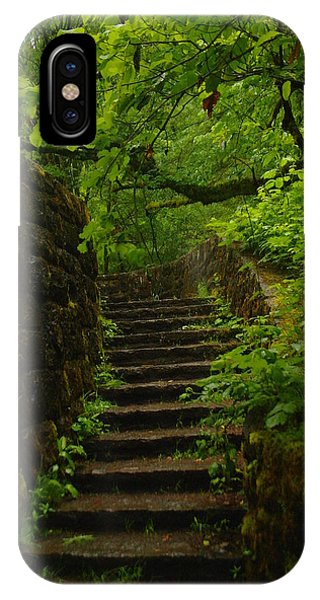 A Stairway To The Green IPhone Case