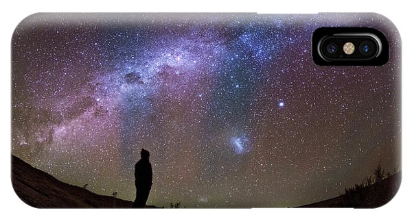 Astrophysical iPhone Case - A Stargazer Observing The Milky Way by Babak Tafreshi