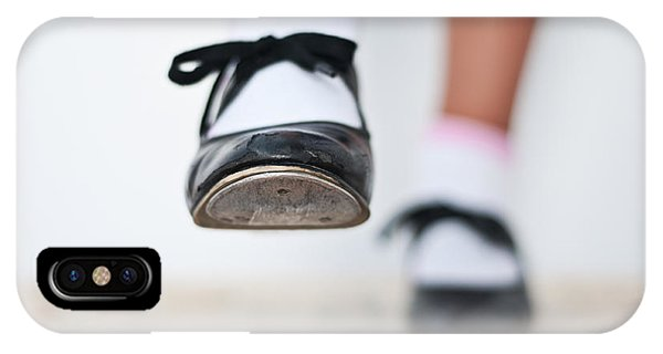 Old Tap Dance Shoes From Dance Academy - A Step Forward Tap Dance IPhone Case