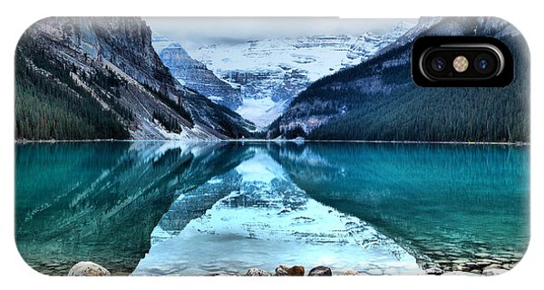 A Still Day At Lake Louise IPhone Case